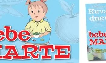 """Poklanjamo novo izdanje knjige """"Kuvarski dnevnik bebe Marte"""""""