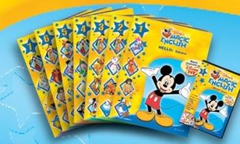 Poklanjamo devetu knjigu iz kolekcije Disney knjiga: Magic English