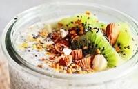 Chia puding s kivijem - ukusan i zdrav desert